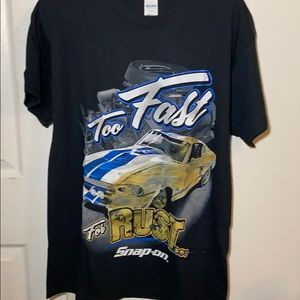 Snap-on Too Fast For Rust Tee Shirt